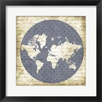 Framed World Antique