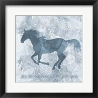 Framed Horse Live