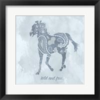 Framed Horse Wild