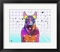 Framed Bull Terrier XI
