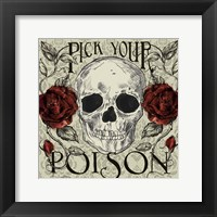 Framed Pick Your Poison