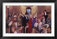 Framed Gone with the Stars