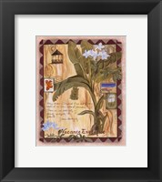 Vacance Exotique Framed Print