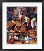 Dreaming Big (Basketball) Framed Print