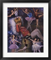 Framed Ballerina Dreams