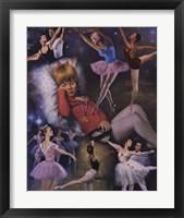 Ballerina Dreams Framed Print