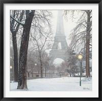 Framed Foggy Day in Paris