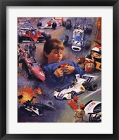 Racing Dreams Framed Print
