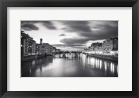 Framed Arno in Florence