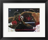 Framed Leonard Hearns