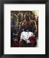 Framed Muhammad Ali