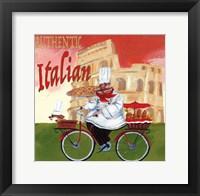 Framed Bike Chef Colosseum Olive