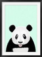 Framed Cute Panda
