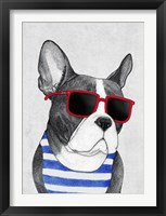 Framed Frenchie Summer Style