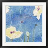 Framed White Poppy