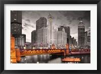 Framed Chicago River