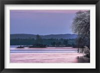 Framed Evening on the Bay