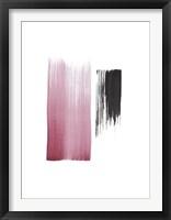 Framed Black & Blush