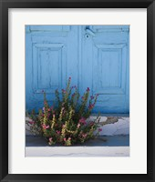 Framed Santorini I Crop