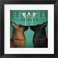 Framed Double Shepherd Martini