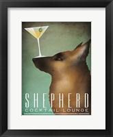 Framed Shepherd Martini