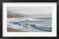 Framed Walk On The Beach