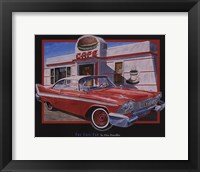 Cafe Car Framed Print