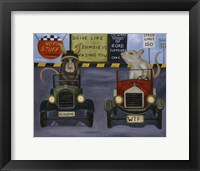 Framed Rat Race #4
