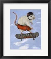 Framed Skate Rat