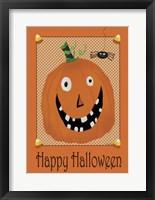 Framed Halloween Flag