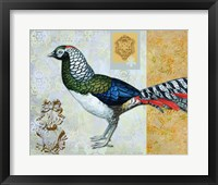 Framed Diamond Pheasant