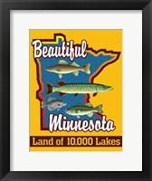 Framed Beautiful Minnesota