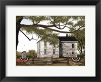 Framed Sweet Summertime House