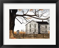 Framed Harvest Time House