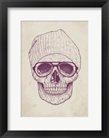 Framed Cool Skull