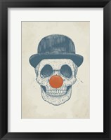 Framed Dead Clown