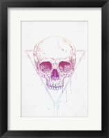 Framed Skull In Triangle