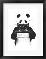 Framed Bad Panda