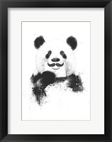 Framed Funny Panda