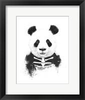 Framed Zombie Panda