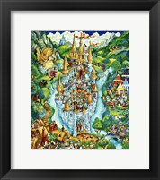 Framed Cats Of Camelot