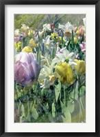 Framed Spring at Giverny II