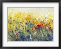Flowers Sway I Framed Print
