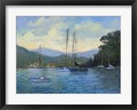 Framed Portofino Bay