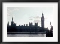 Framed Sunset on the River Thames