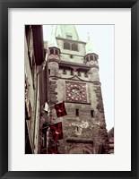 Framed Clock Tower II