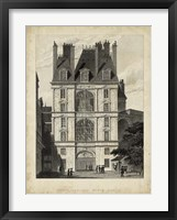 Framed Fontainbleau, Porte Doree