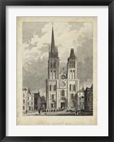 Framed Eglise de St. Denis