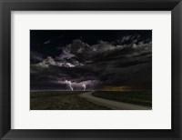 Framed Prairie Lightning