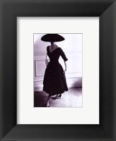 Framed Dressed in Black